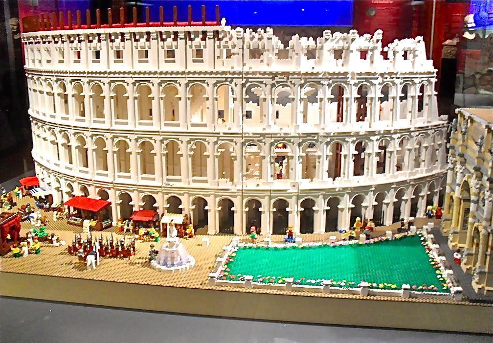 LEGO Colosseum | The Good, the Bad and the Italian